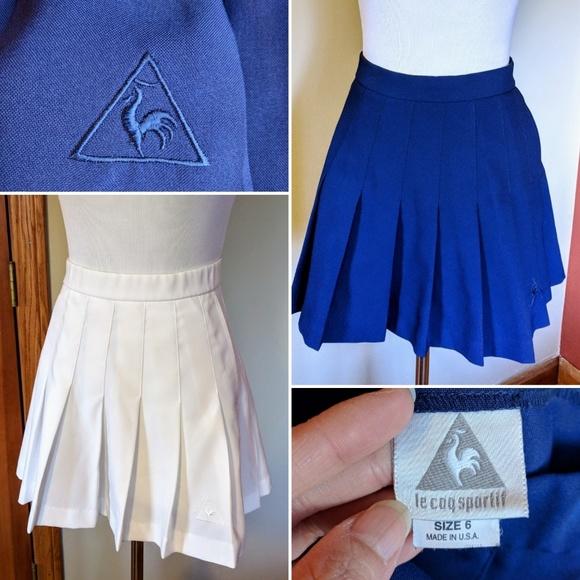c841277d50ea Le Coq Sportif Dresses   Skirts - 2 Le Coq Sportif pleated tennis mini  skirts